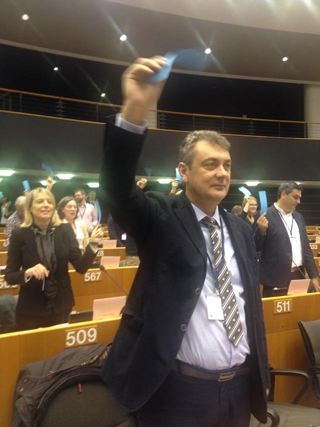 Στη συνεδρίαση του συμφώνου των δημάρχων συμμετείχε ο Δήμαρχος Μουζακίου κ. Γιώργος Κωτσός