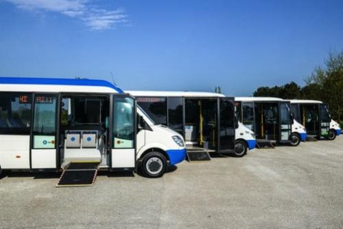 Δύο ηλεκτροκίνητα Mini Bus για το Δήμο Ηρακλείου από το «ECORouTs»