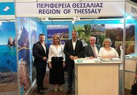 Παρουσία της Περιφέρειας Θεσσαλίας σε τουριστική έκθεση στην Κύπρο