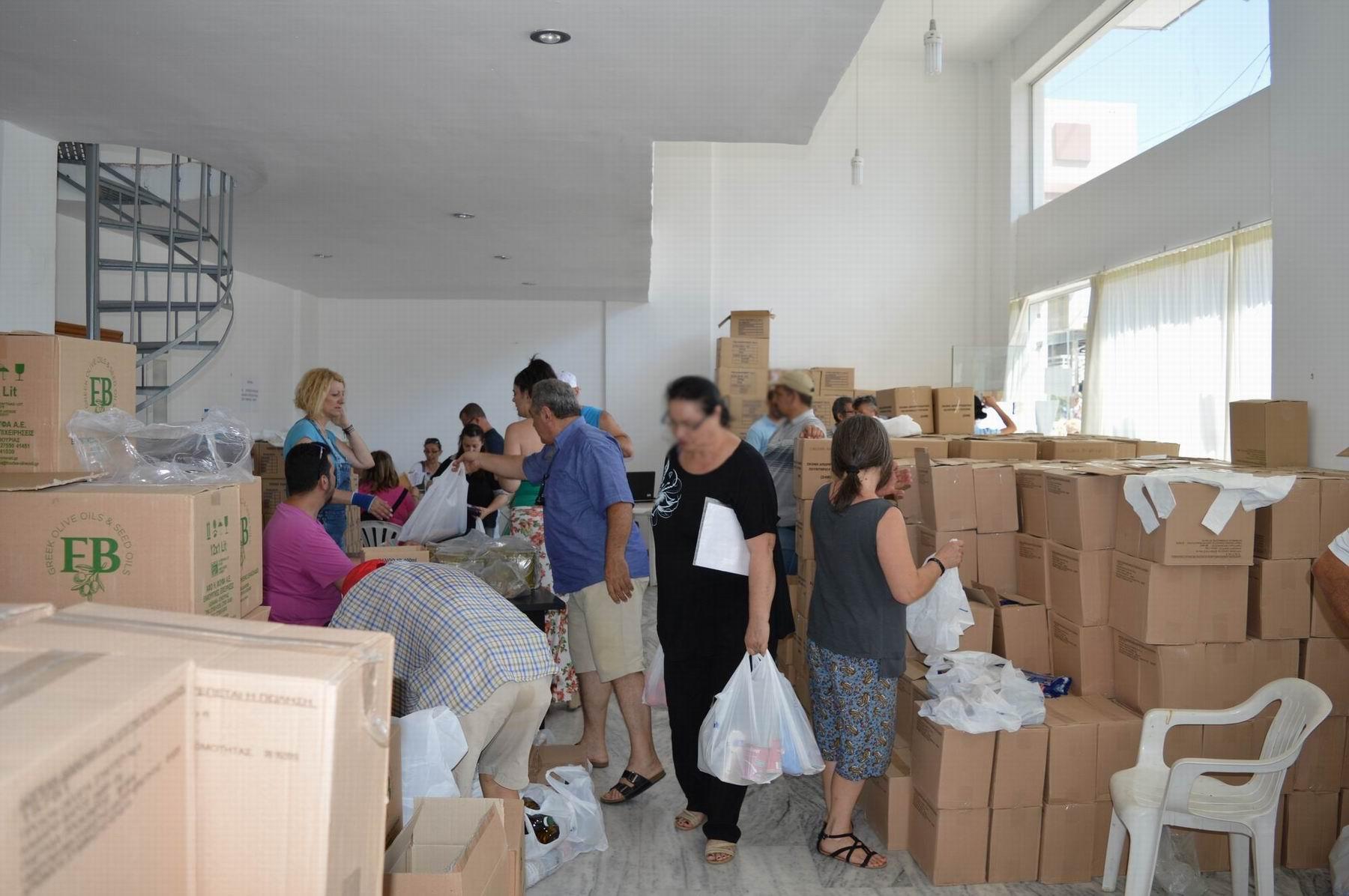 Δ. Θεσσαλονίκης: Ξεκινά η δωρεάν διανομή τροφίμων μέσω ΤΕΒΑ